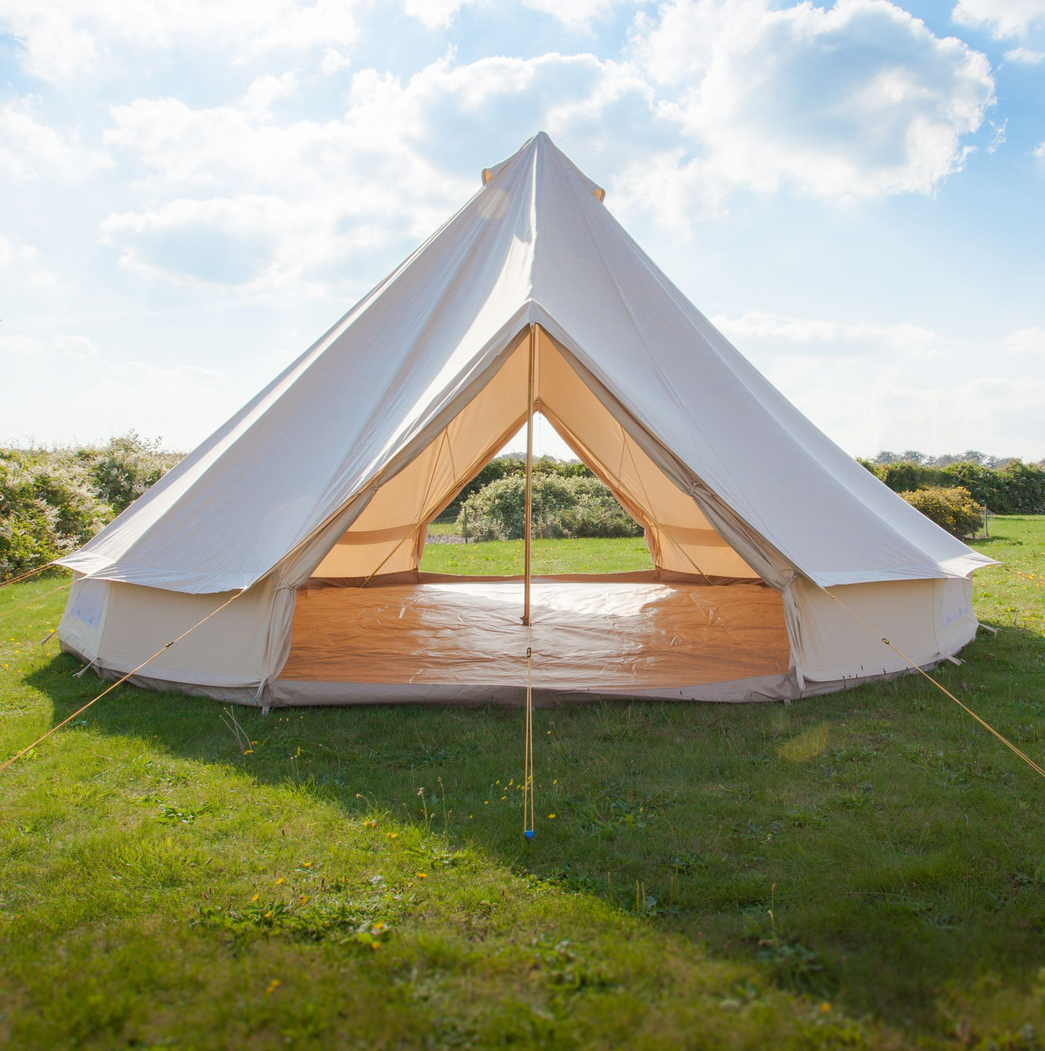 Soulpad 6000 hybrid g 6m bell tent 6 person for Colorado canvas tent