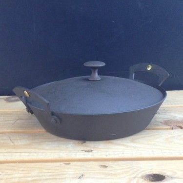 "10"" (26cm) Netherton Foundry Prospector Casserole Lid - For Prospector Glamping  Pan"