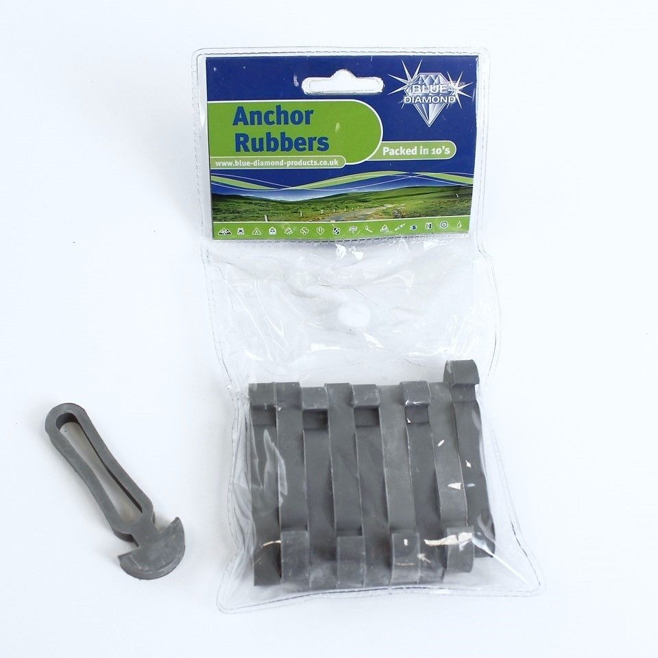 Blue Diamond Anchor Rubbers  Supplied in a Pack of 10