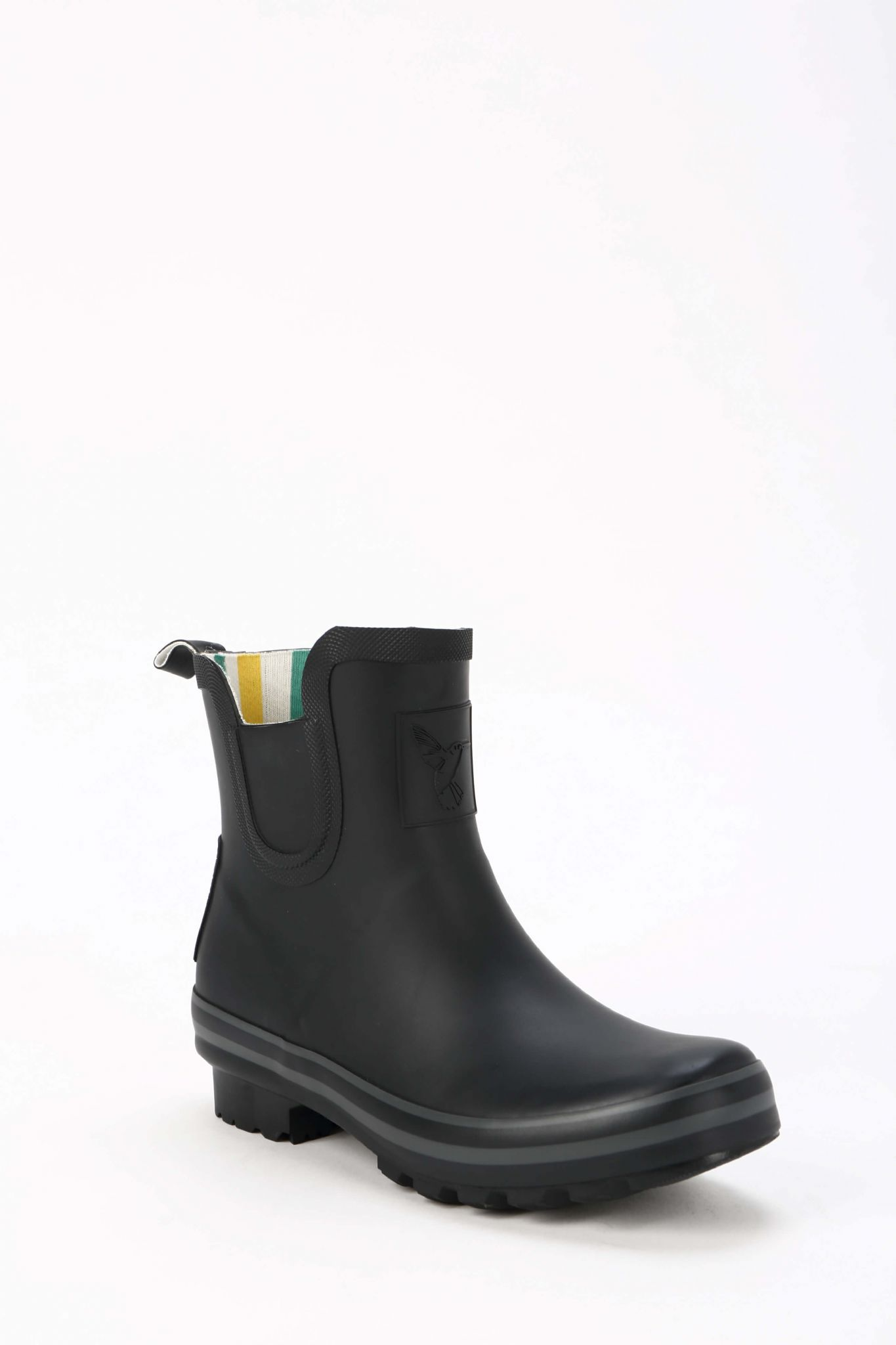 Black Ankle Wellington Boots Funky Wellies