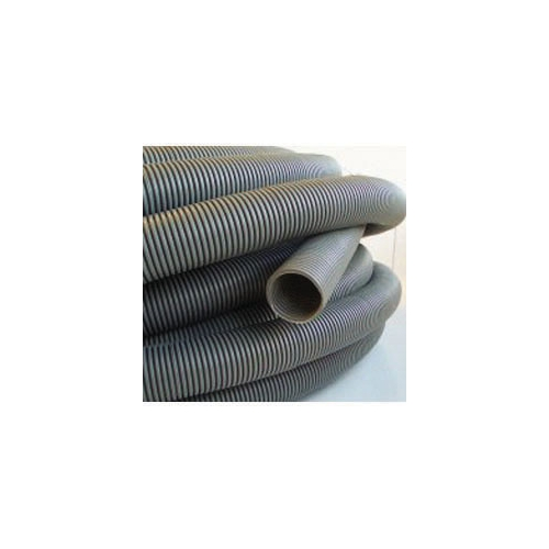 Convoluted Waste Hose Grey (per M)