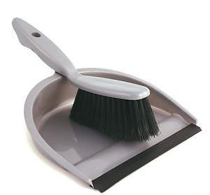 Dustpan and Brush Set Ideal for Camping or Caravanning