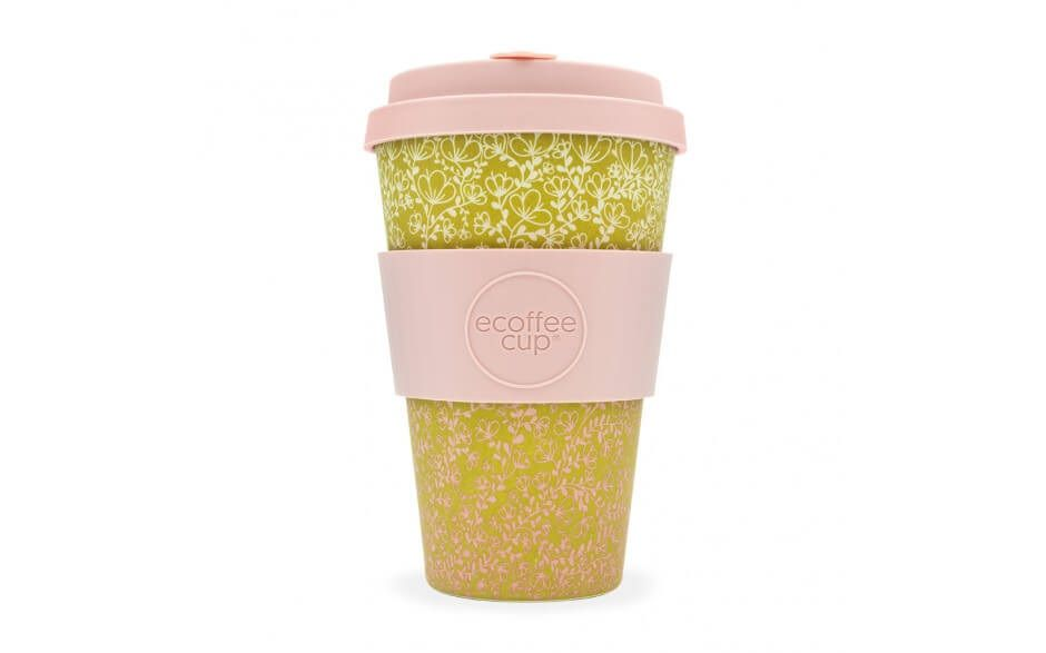 Ecoffee Reusable Cup - Miscoso Primo  14oz - Naturally Organic Bamboo