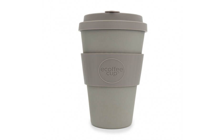 Ecoffee Reusable Cup - Molto Grigio  14oz - Naturally Organic Bamboo