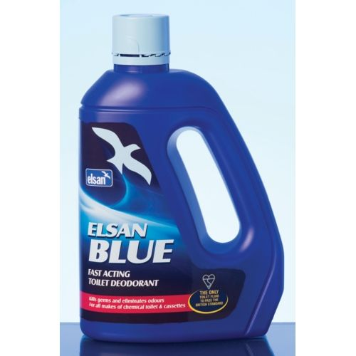 Elsan Blue - 2 litre - Portable Toilet Fluid