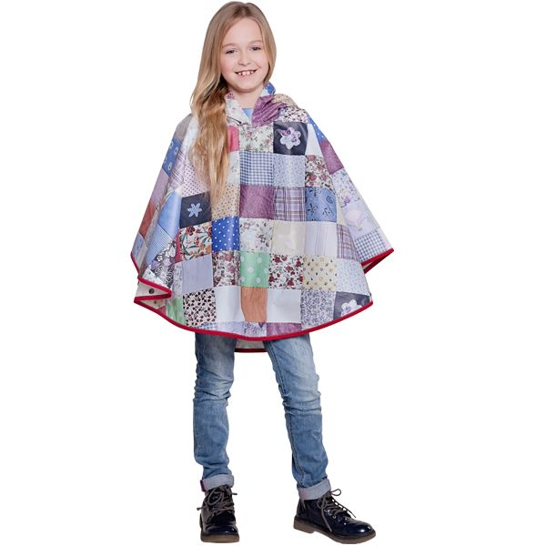 FieldCandy Designer Kids  Poncho -  Snug as a Bug