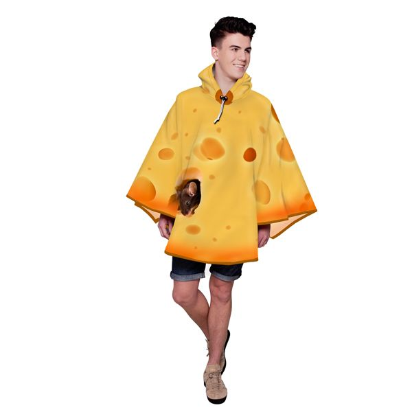 FieldCandy Designer Poncho - Cheese Please