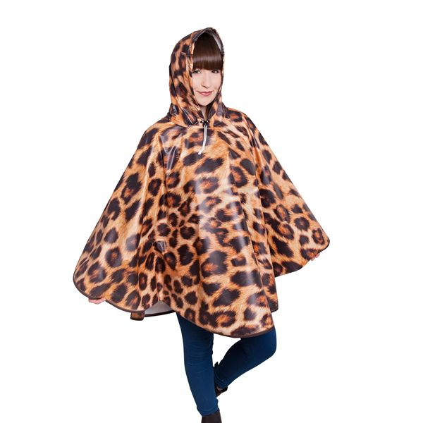 FieldCandy Designer Poncho - Don't be a Leopard