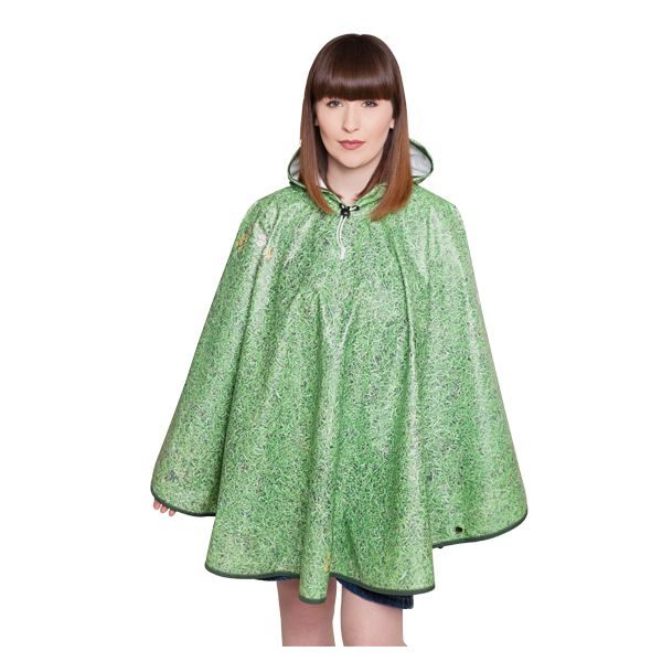 FieldCandy Designer Poncho - Grass is Greener