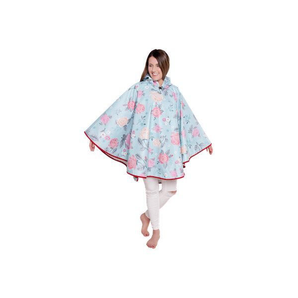 FieldCandy Designer Poncho - Touch of Chintz
