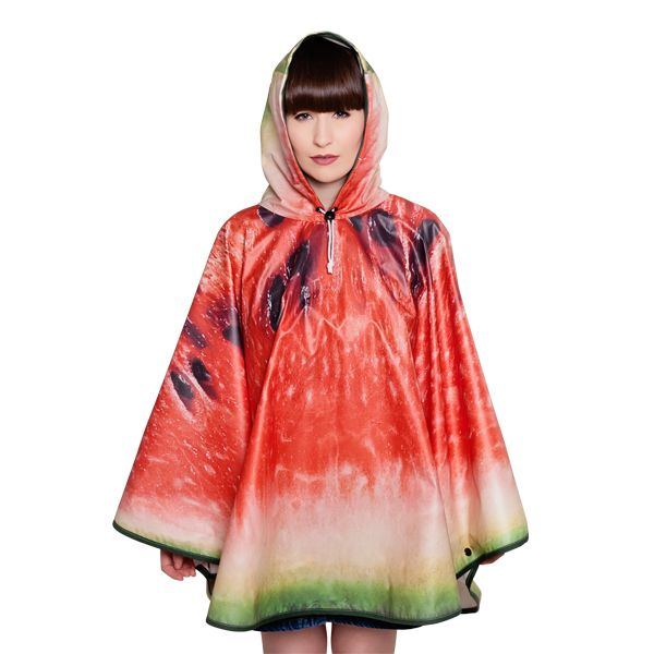FieldCandy Designer Poncho - What a Melon