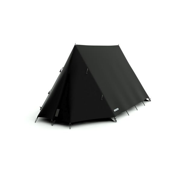 FieldCandy Original Explorer Tent Classic Colours - Black Magic