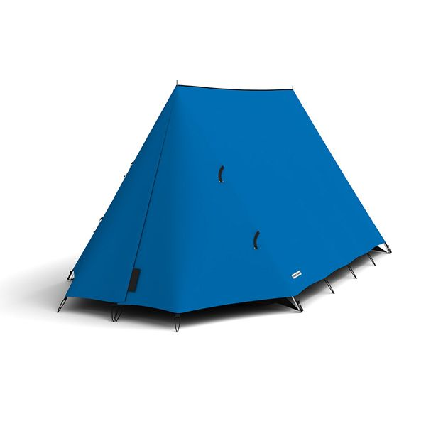 FieldCandy Original Explorer Tent Classic Colours - Deep Blue Sea