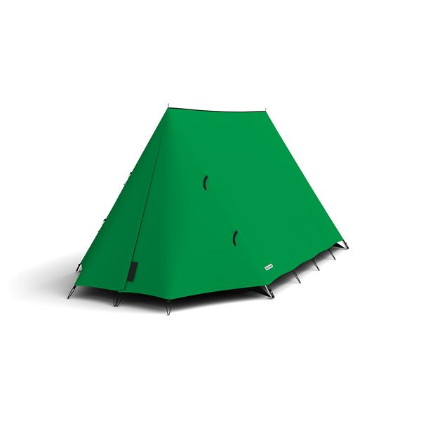 FieldCandy Original Explorer Tent Classic Colours - Mean Green