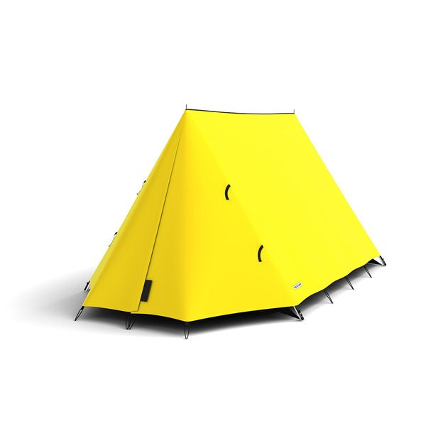 FieldCandy Original Explorer Tent Classic Colours - Mellow Yellow