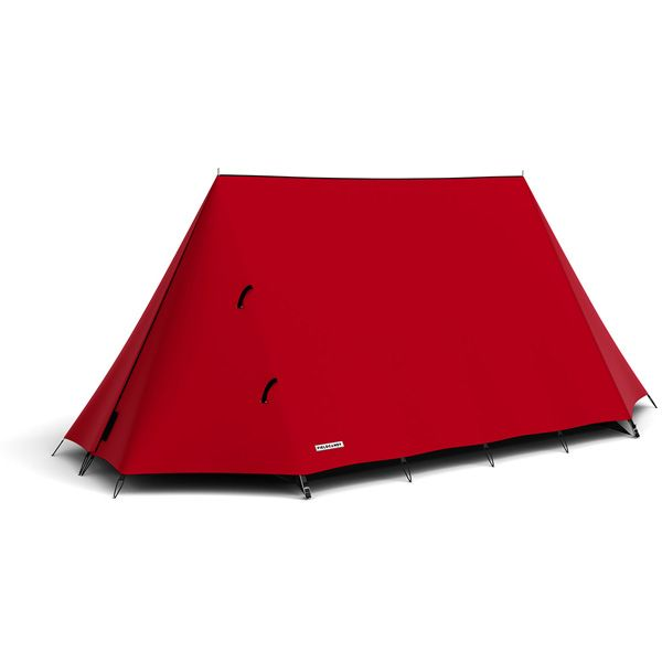 FieldCandy Original Explorer Tent Classic Colours - Rebel Red