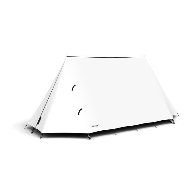 FieldCandy Original Explorer Tent Classic Colours - Snow White