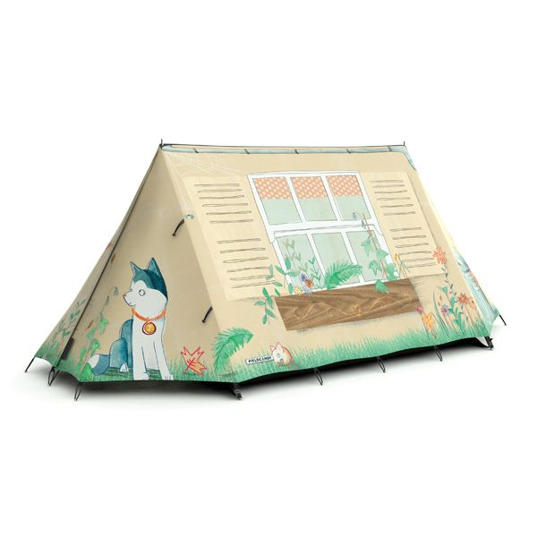 FieldCandy Original Explorer Tent Designer - Home Sweet Home