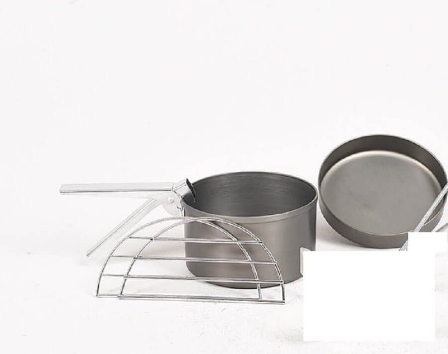 Hard Anodised Cook Kit Large