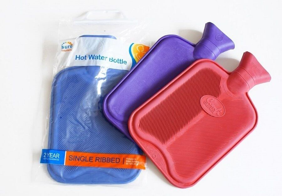Rubber Hot Water Bottle - 2lt