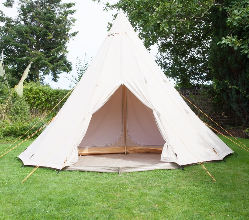 & SoulPad 5000 - Tribe - 5m Bell Tent 4 Person