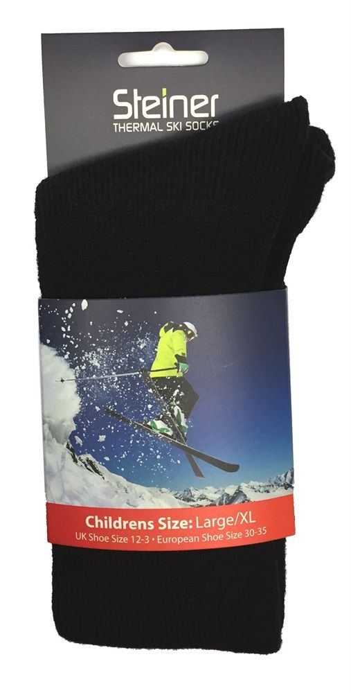 Steiner Thermal Ski Socks  - Childrens Thermal Ski Socks