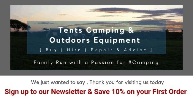 IBEXCamping Newsletter Sign Up Save 10%