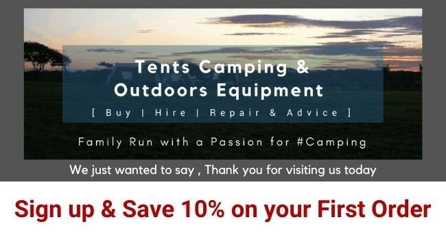 IBEX Camping Newsletter Sign Up - Save 10% on your first order
