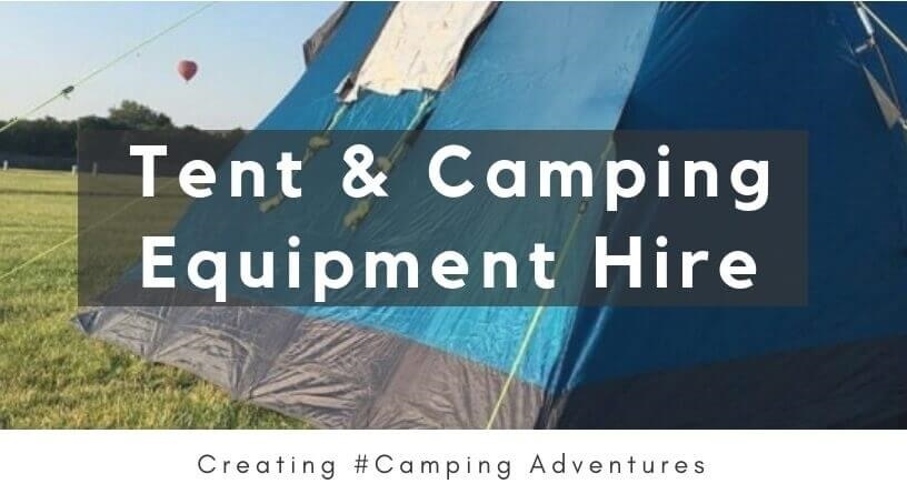 Link to IBEX Camping Tent Hire Webpage