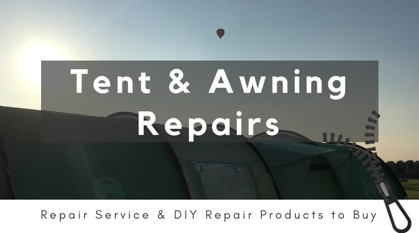 Link to IBEX Camping Tent Repair Web page