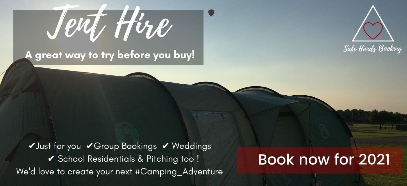 Link to IBEX Camping Tent Hire Booking Form